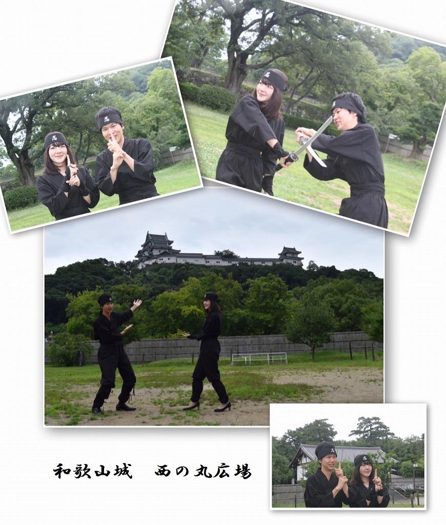 忍者衣装体験2