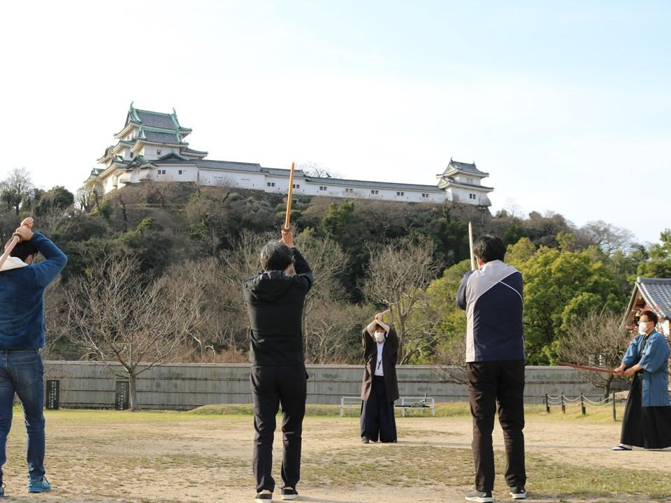 【朝活】剣術エクササイズ! 和歌山城の朝稽古