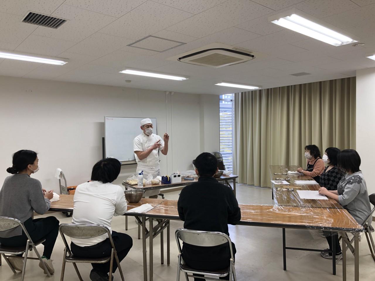 【団体向け】出張和菓子作り体験