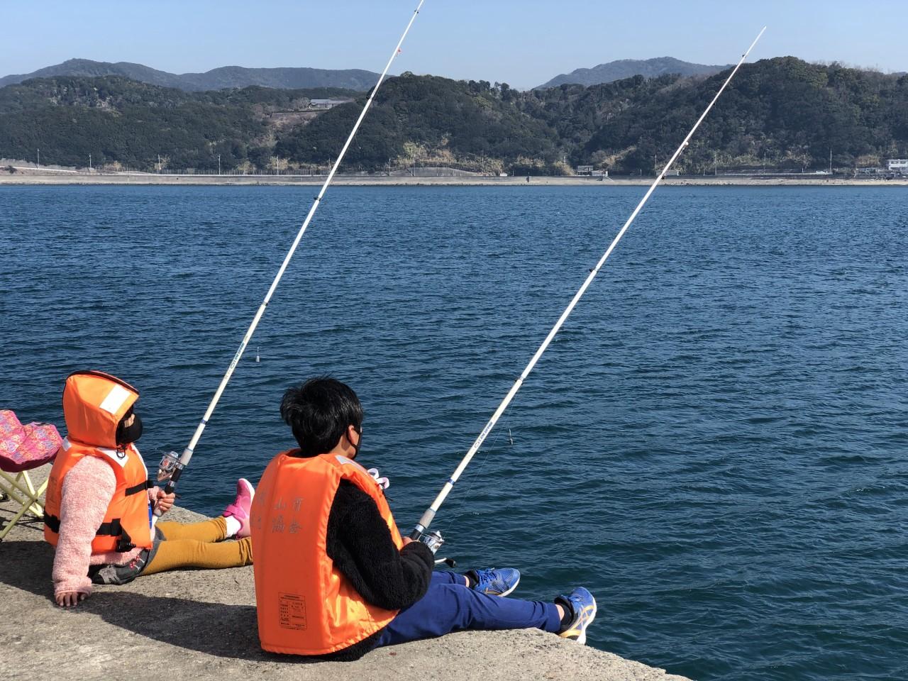 手ぶらでカンタン海釣り体験